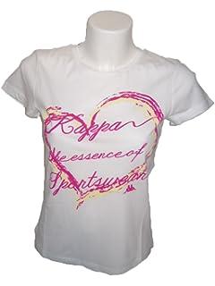 94ce6cbb55b Kappa - T-Shirt - Homme Blanc Bianco  Amazon.fr  Vêtements et ...