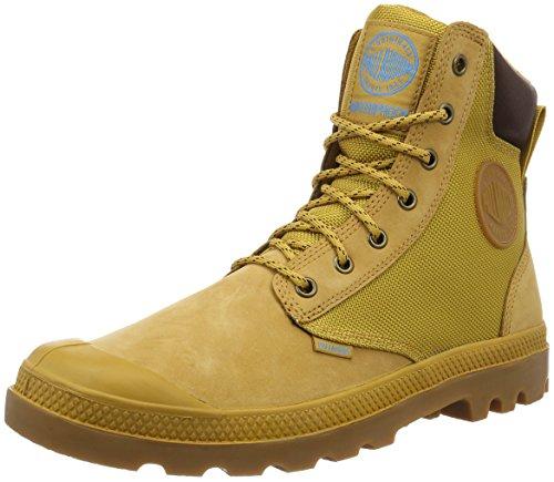 Palladium Men's Pampa Sport Cuff Wpn Rain Boot, Amber Gold/Mid Gum, 10.5 M US