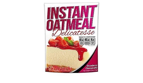 Beverly Nutrition Instant Oatmeal 1 kg - Tarta de Queso-Fresa: Amazon.es: Salud y cuidado personal