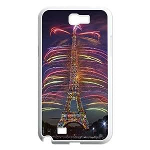 [Tony-Wilson Phone Case] For Samsung Galaxy Note 2 -IKAI0446963-Paris Eiffel Tower