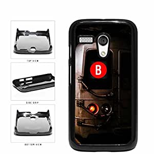 Personalized NYC Train Custom Letter B Plastic Phone Case Back Cover Moto G