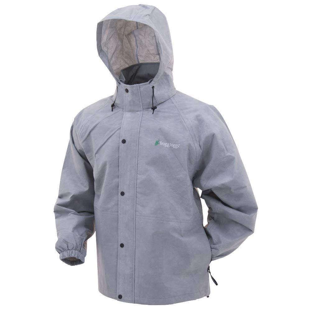 Frogg Toggs, Pro Action Jacket, Gray, Small