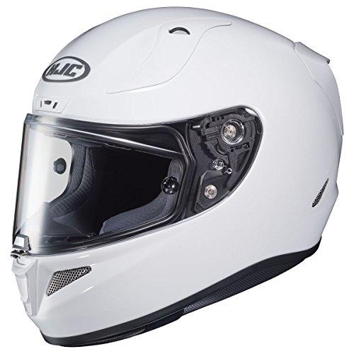 HJC Solid Pro Men's RPHA 11 Street Bike Motorcycle Helmet - White - Male Day International White