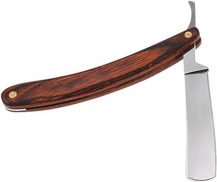 Anself Tradicional Afeitar Afeitadora Vintage Acero Inoxidable ...