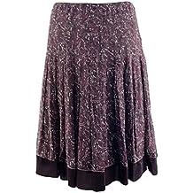 Gianni Bini Women's Pleated Floral Silk Molly Skirt