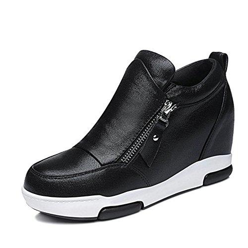 Alto zapatos ocasionales de las señoras/Primavera y otoño zapatos de los deportes/Versión coreana con zapatos de corte bajo A
