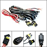 fog light wiring kit - iJDMTOY (1) 9005 9006 H10 Relay Harness Wire Kit with LED Light ON/OFF Switch For Aftermarket Fog Lights, Driving Lights, HID Conversion Kit, LED Work Lamp, etc
