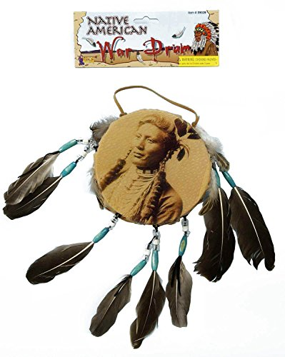 Forum Novelties Men's Novelty Native American War Drum, Brown, One Size (Indian Mens Costume)
