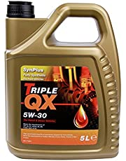 Triple QX SynPlus SAE 5W30 Fully Synthetic Car Engine Oil 5L Spec 5 Litre