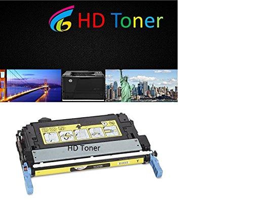 HD Remanufactured Laser Toner Cartridges for HP Color LaserJet 4700:1 Yellow Q5952A for the LaserJet 4700, 4700dn, 4700dtn, 4700n, (5950 Laser)