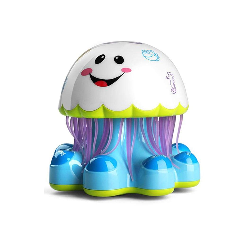 Cute Jellyfish Story Machine for Infants Baby Exceptional 3 + Months S WIDEN ELECTRIC Early Education Music Toy with Colorful Lights,Baby Toy Toddler Toys,Music Story Toy