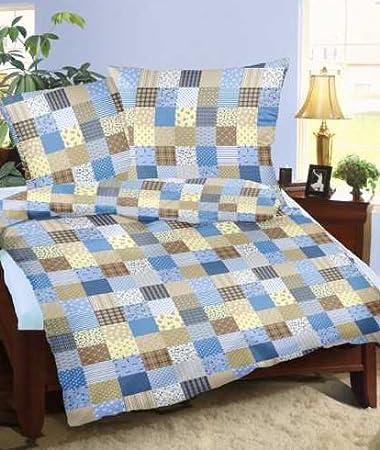 Genieße den Schlaf Seersucker Bettwäsche aus 100% Baumwolle ...