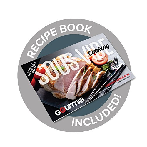 Gourmia GSV900 Sous Vide Self Contained Circulating Water Oven with Rack - Stainless Steel - 10 Quart- Includes Free Recipe Book - 110V by Gourmia (Image #5)