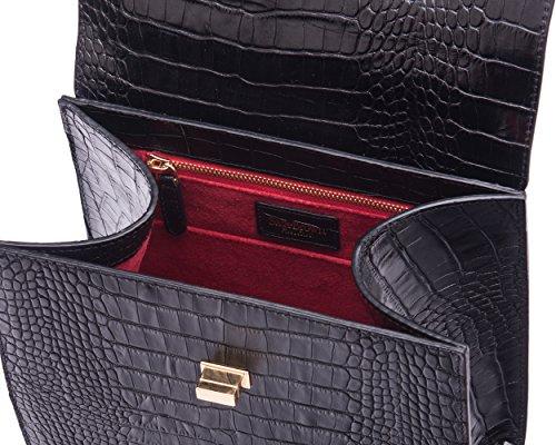 Black SAGEBROWN Morgan Bag The Croc OrtqrR
