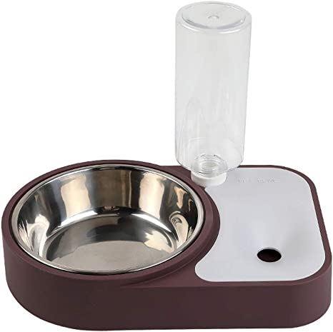 WWXX Comedero For Perros Y Gatos,Alimentador Automático De Agua ...