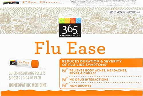365 Everyday Value, Flu Ease, 6 ct