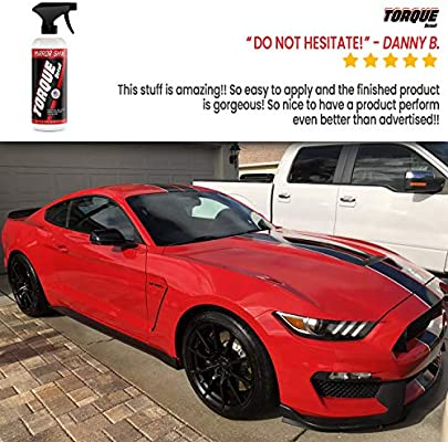 Mirror Shine - Super Gloss Wax & Sealant Hybrid Spray by Torque Detail -  Superior Shine & Professional Detailer Protection - Quickly Applies in