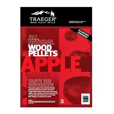 Traeger PEL313 Apple Barbecue Pellets, 20-Pound