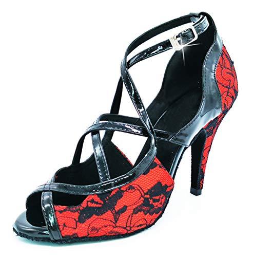 8 5cm Donna Heel th190101 Minitoouk Sala Minitoo Red Da zCYaWW0