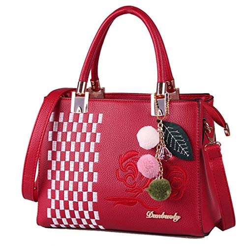 color Sac Épaule Pour Main Fourre Diagonale Ploekgda Simple Red À Femme Green tout OxZvxqUw