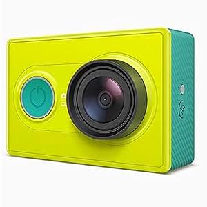 Walio Xiaomi Yi Action - Videocámara Deportiva Full HD 1080p, Amarillo