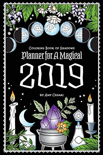 Pdf Crafts Coloring Book of Shadows: Planner for a Magical 2019