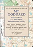 High Sierra Hiking Guide to Mt. Goddard, John W. Robinson and Andy Selters, 0899970745