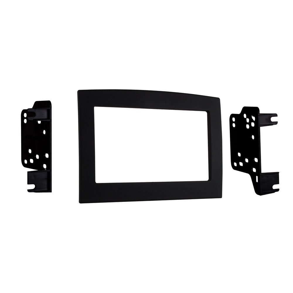 Metra 95-6528B Double Din Dash Kit for 2006 - 2010 Dodge Ram (Black)