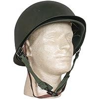 Fox Outdoor Products Deluxe M1 Style Casco de Combate de Acero, Talla única