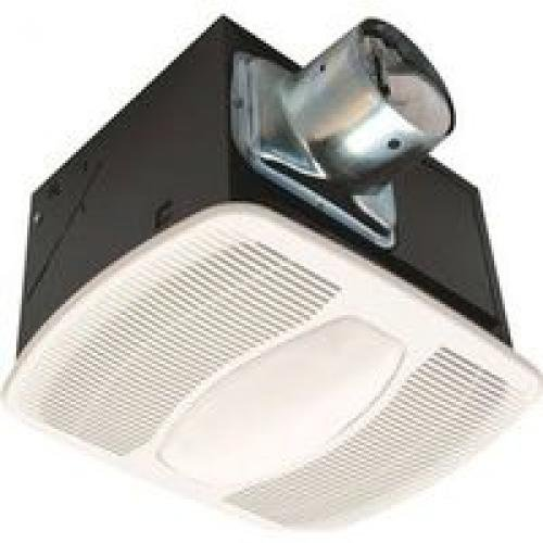 Air King AK100L Deluxe Bath Fan with Light and Night Light, Rectangular by Air King