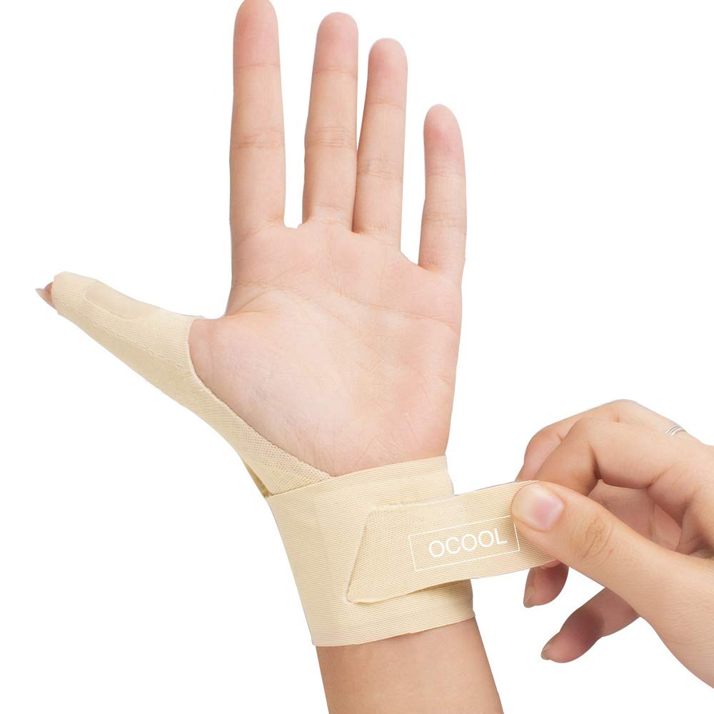 Wrist Thumb Splint Support, Thumb Spica Splint, Thumb Stabilizer Brace, Adjustable Braces Left Right Hand Suit for Everyone, Ideal for Arthritis, Joint Pain, Tendonitis, Sprains, Sports, Left
