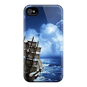 Hot Style KbY20861mgtj Protective Cases Covers For Iphone6plus(space Ship Sailing Storm)
