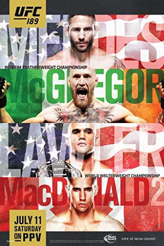 Pyramid America UFC 189 Chad Mendes vs Conor McGregor Sports