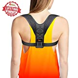 Posture Corrector for Women - Rounded Shoulders Ultimate Comfort Shoulder Corrector Clavicle Cervical Wearable Support for Upper Back. Shoulder & Neck Pain Relief