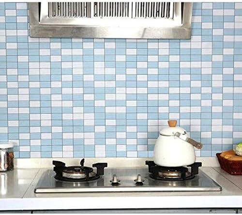 Carrelage Adhesif Mural 60X300Cm Moderne PVC Mosaique Papier ...