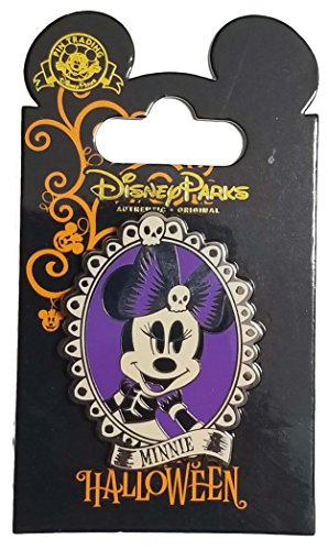 WDW Trading Pin - Happy Halloween Minnie Mouse Cameo -