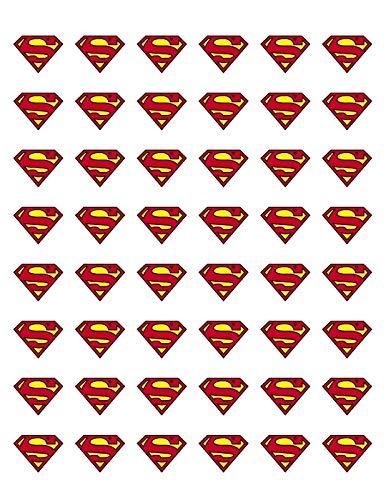 Sticker 48 Superman Seals Labels Envelope, 1.2