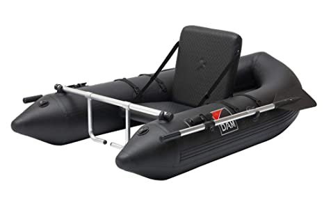 D-A-M Dam Belly Boat - Colchoneta Hinchable con Remo y ...