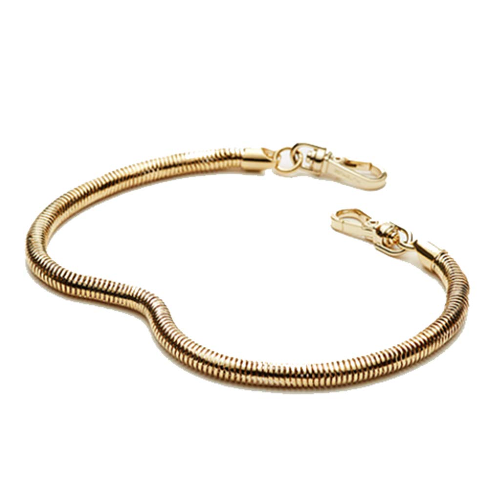 MUTEMUSE Short Gold Hand Chain Strap Replacement for Women for Purses Handbags Totes by MUTEMUSE