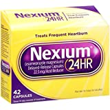 Nexium 24-Hour Delayed Release Heartburn Relief (42-Count Capsules/22.3mg)