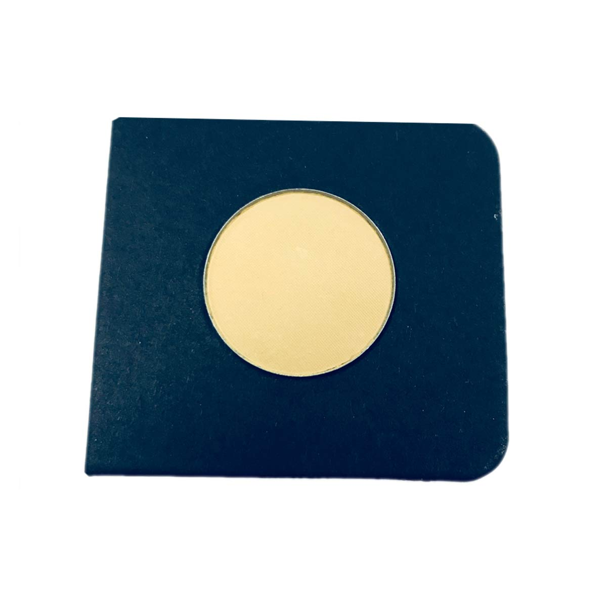 Everfavor Single Eye Shadow Compact, High Pigmented Blendable Eyeshadow Makeup Refill Pan 26mm (Moon)