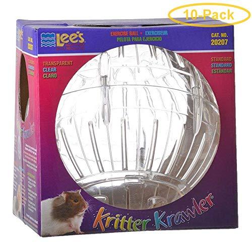 Lees Kritter Krawler - Clear Standard - 7'' Diameter - Pack of 10