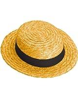 Straw Skimmer Hat - Adult Std.