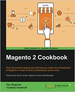 Amazon com: Magento 2 Cookbook (9781785887062): Ray Bogman