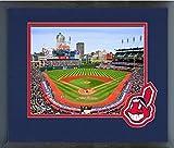 "Cleveland Indians Progressive Field MLB Stadium Photo (Size: 13"" x 16"") Framed"