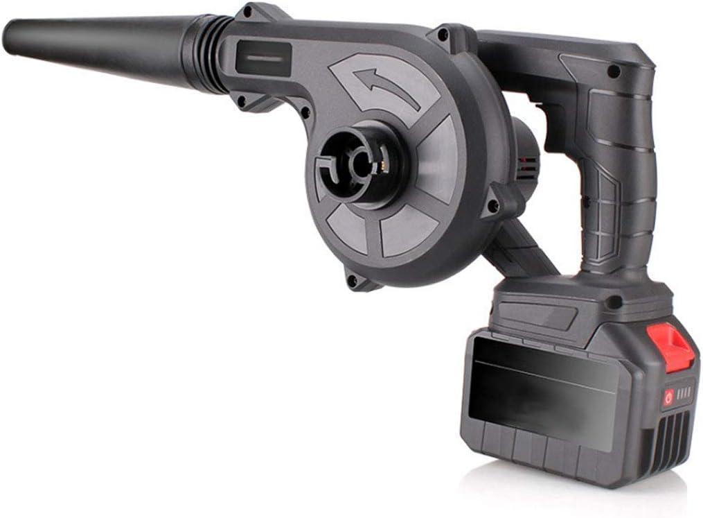 Gas Powered soplador de hojas portátil ligero de iones de litio sin cable Jet ventilador de ventilador 4 Especificaciones a elegir de duradero de la batería y cargador incluidos yqaae