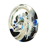 Caithness Wonderful World Wishing On A Star Glass Crystal Paperweight