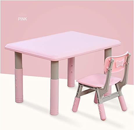 CHAXIA Chaise De Table Enfant Ensemble Plastique Jardin d ...