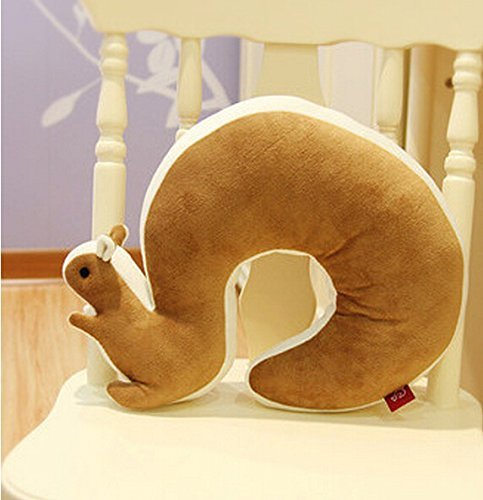 derfun-novel-u-shaped-squirrel-neck-pillow