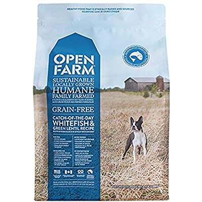 Open Farm Catch-of-the-Season Whitefish & Green Lentils Dry Dog Food 12 Pounds